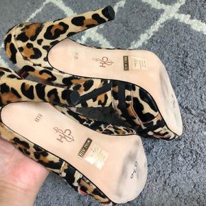 Cole Haan Shoes - NEW Cole Haan leopard slingback heels size 8.5